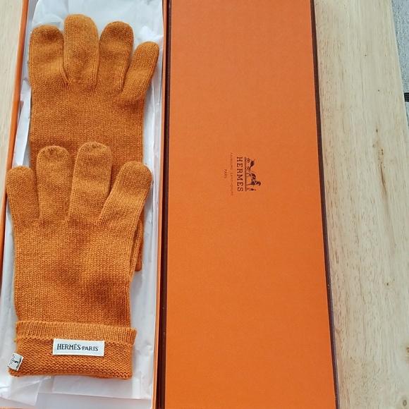 f6ddb5f8cc5d Hermes Accessories | Cashmere Gloves | Poshmark